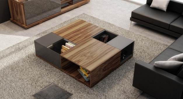 Coffee Table Move Collection Furniture Manufacturer Contemporary Hupp