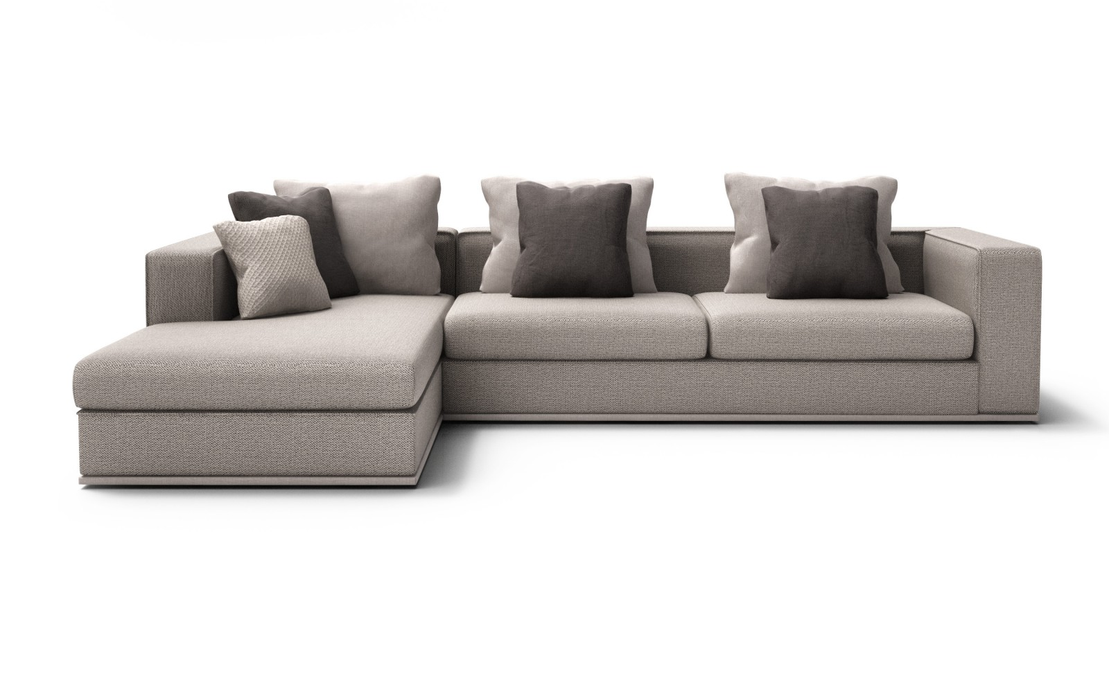 Left side chaise sectional