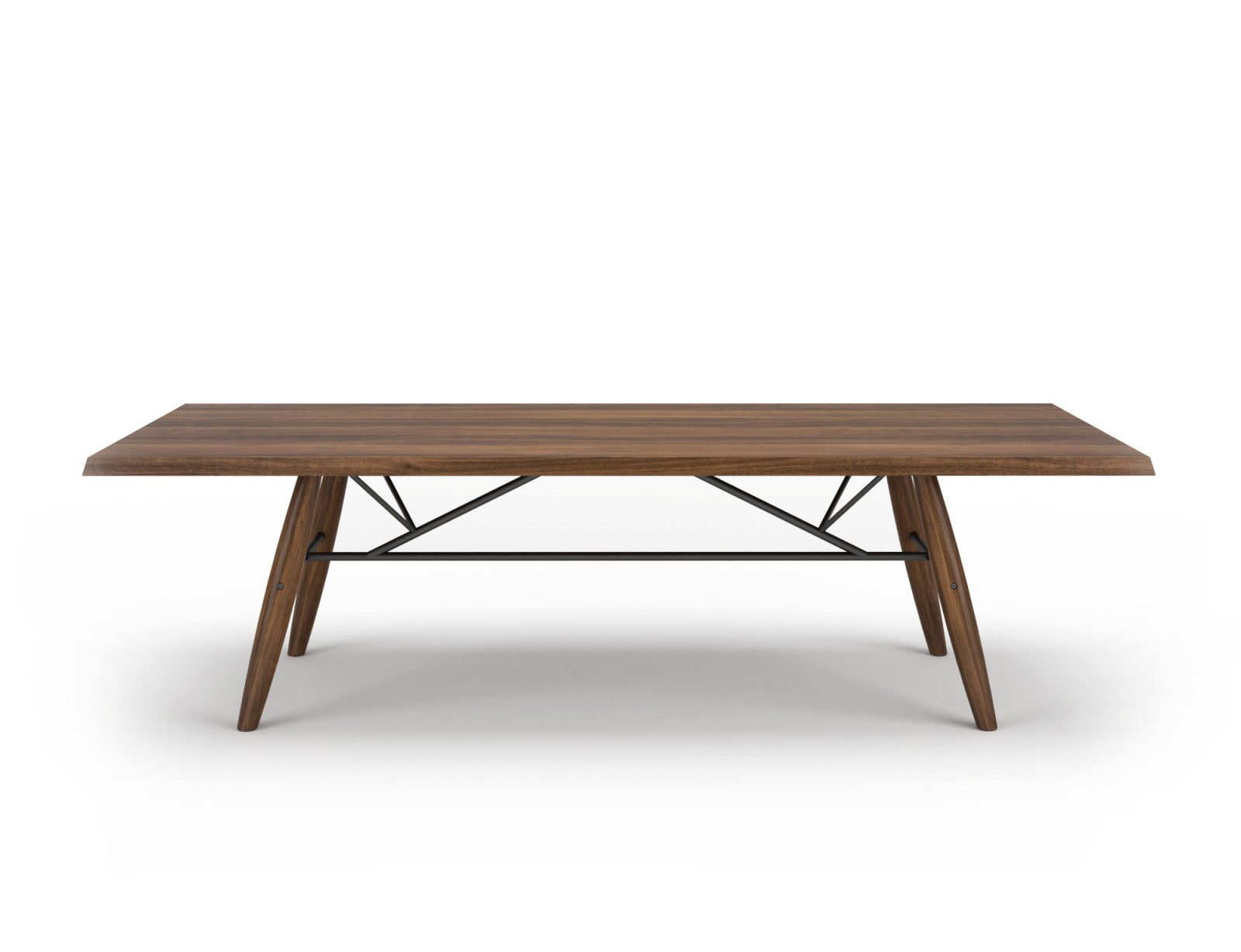 Large Walnut Table Connection Collection Furniture Manufacturer