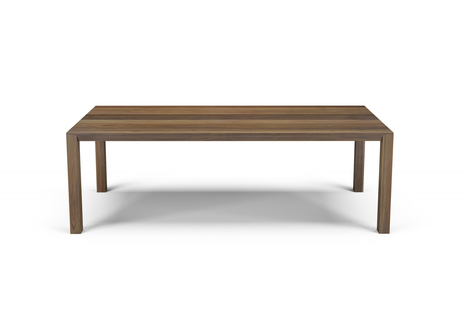 92'' walnut table